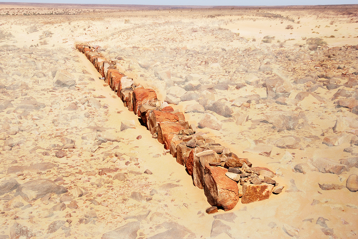 #004 Sacred Site,Mauritanie, 2004, 20°56'16″N 11°37'14″W