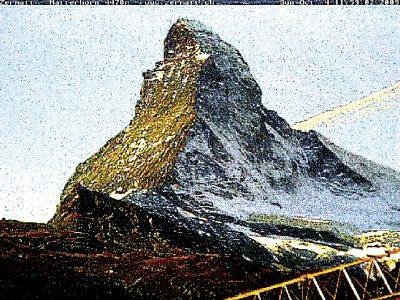 Matterhorn, Cervin, montagne, glaciers, glacier, jacques, Pugin, Zermatt, Automated, Matterhorn, Corinne, Vionnet,