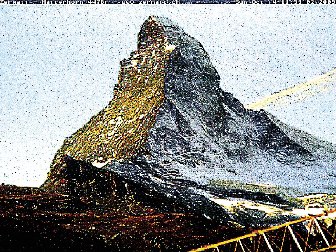 Matterhorn, Cervin, montagne, glaciers, glacier, jacques, Pugin, Zermatt, Automated, Matterhorn, Corinne, Vionnet,  #0043 Matterhorn 2009 10 04