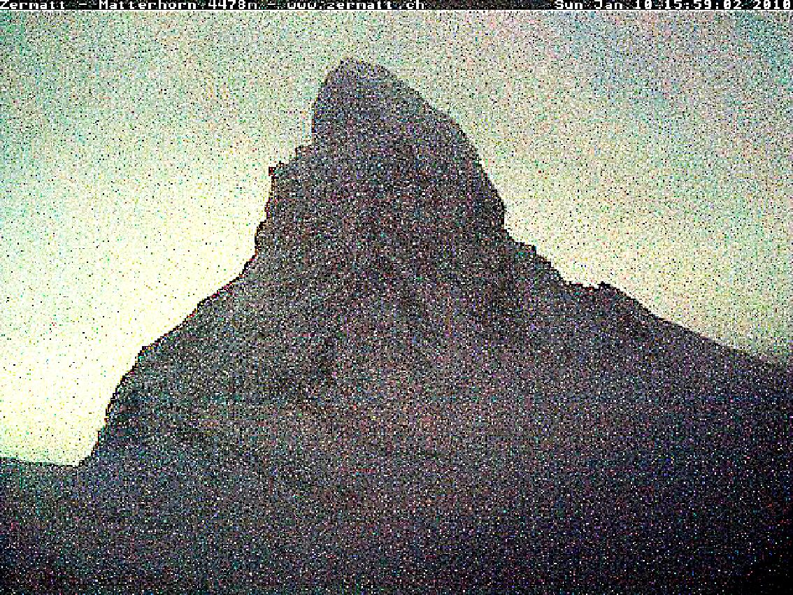 Matterhorn, Cervin, montagne, glaciers, glacier, jacques, Pugin, Zermatt,   #0139 Matterhorn 2010 01 10