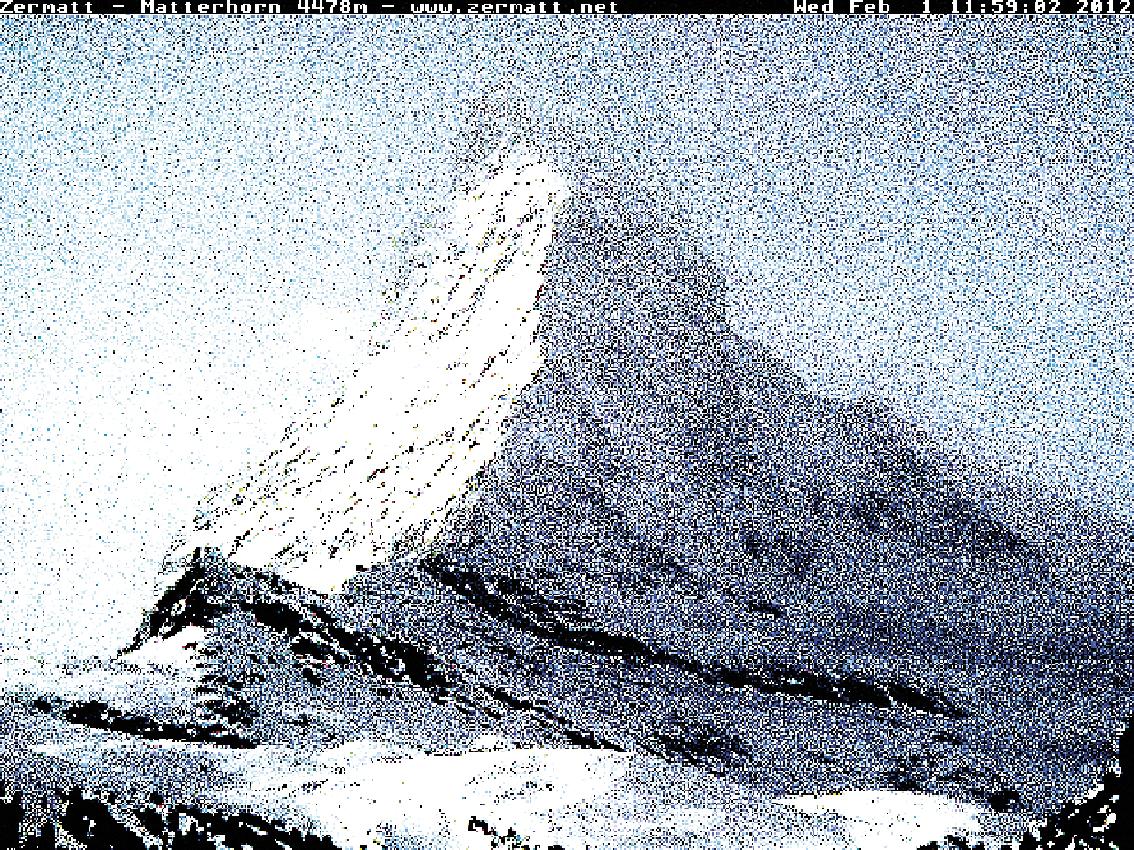 Matterhorn, Cervin, montagne, glaciers, glacier, jacques, Pugin, Zermatt, Automated, Matterhorn, Automated_Matterhorn, webcam,  #0747 Matterhorn 2012 02 01