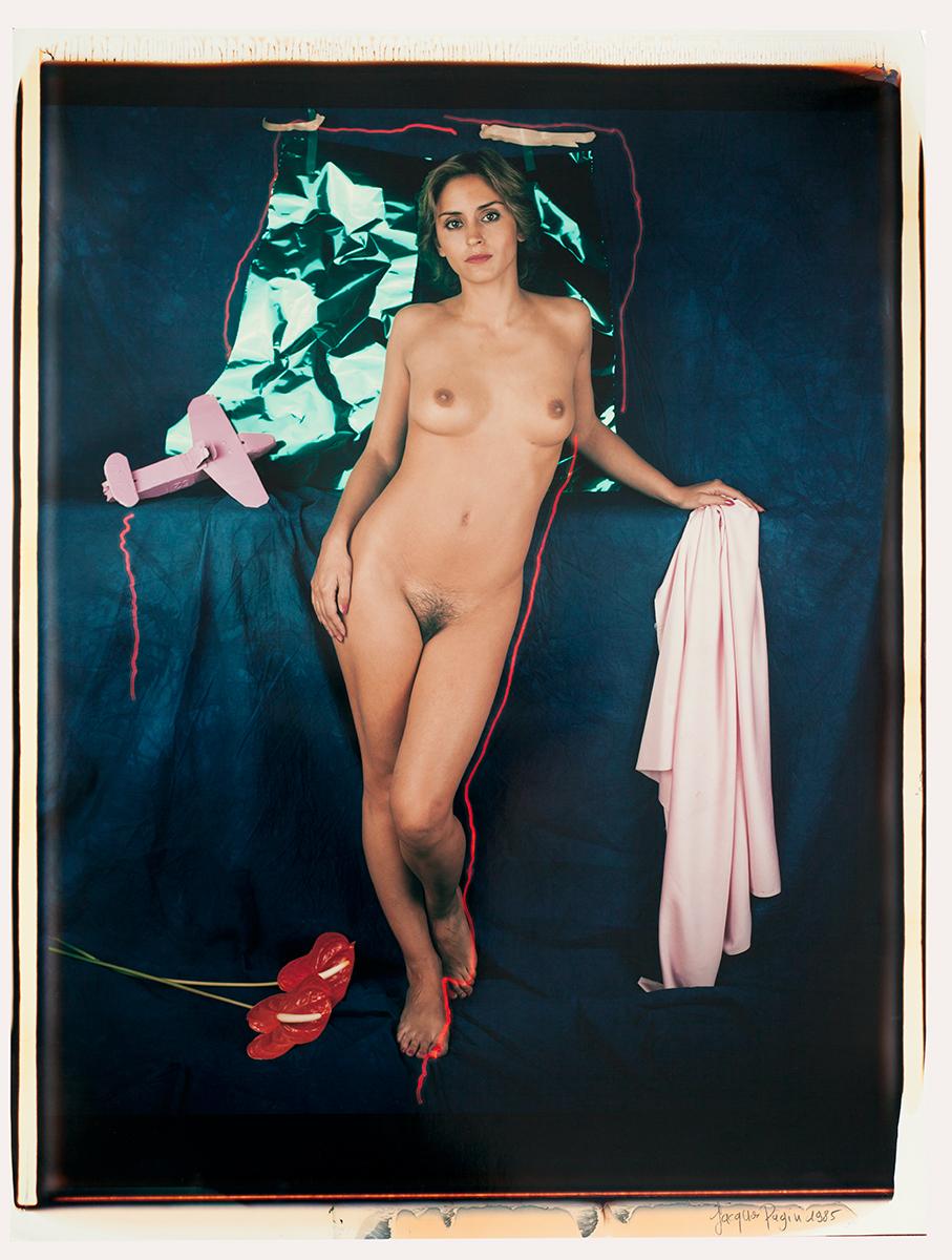 # 01 Les polaroid 60 x 50 cm, 1985