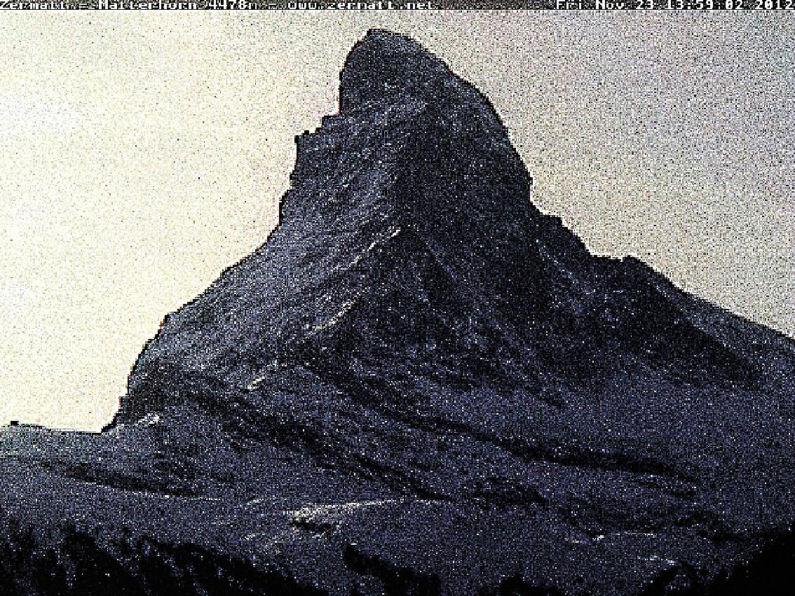 Matterhorn, Cervin, montagne, glaciers, glacier, jacques, Pugin, Zermatt, Automated, Matterhorn, Automated_Matterhorn, webcam,  #1003 Matterhorn 2012 11 23
