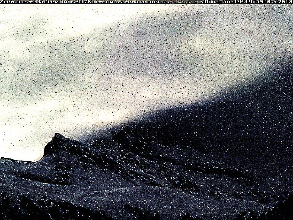 Matterhorn, Cervin, montagne, glaciers, glacier, jacques, Pugin, Zermatt, Automated, Matterhorn, Automated_Matterhorn, webcam,  #1050 Matterhorn 2013 01 14