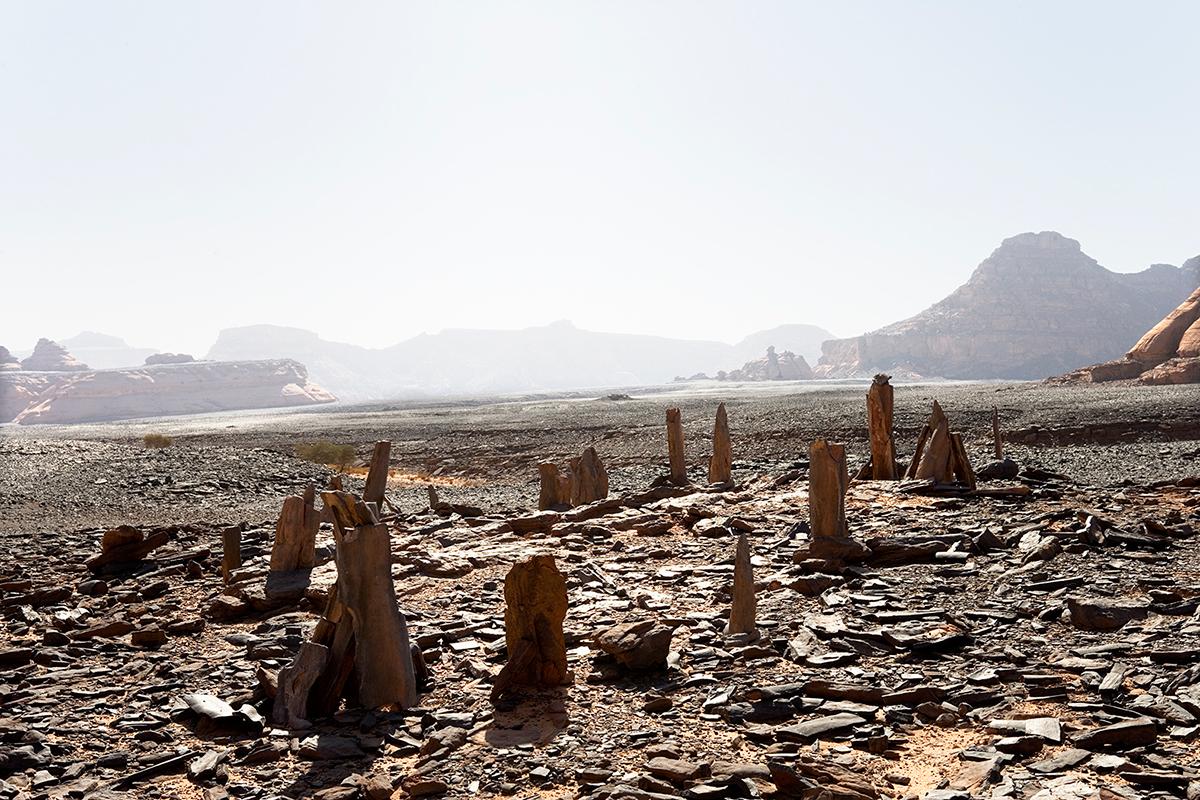 #142 Sacred Site,Libye, 2006, 25°0'4″N 10°28'30″E