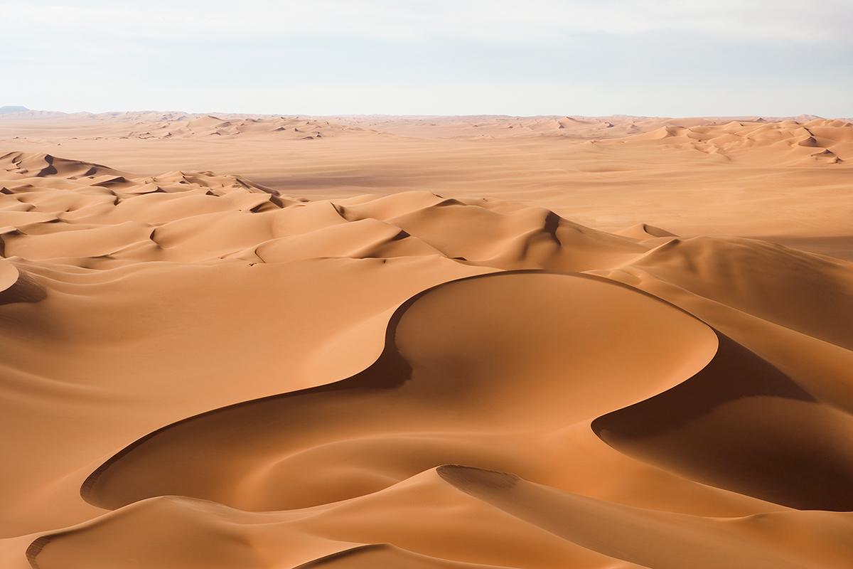 #143 Sacred Site,Libye, 2004, 26°37'12″N 13°13'14″E