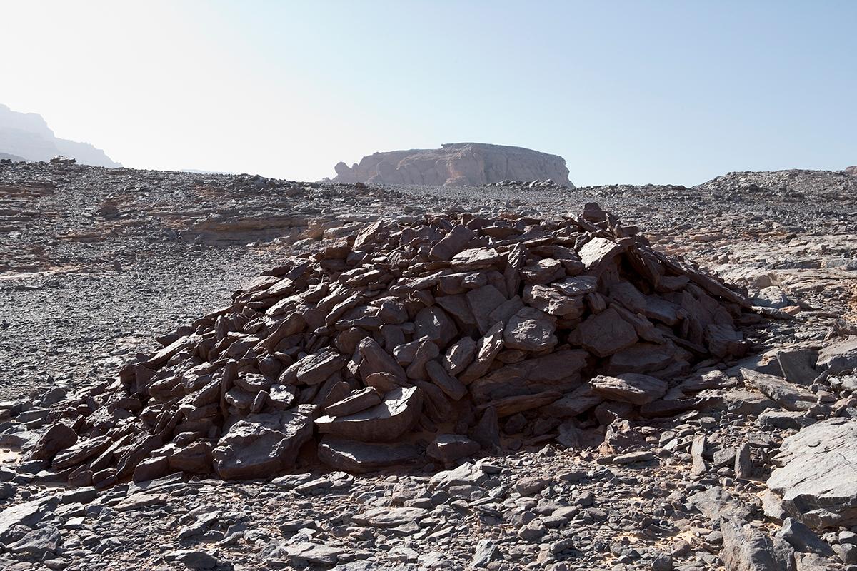 #151 Sacred Site,Libye, 2002, 25°0'39″N 10°28'31″E