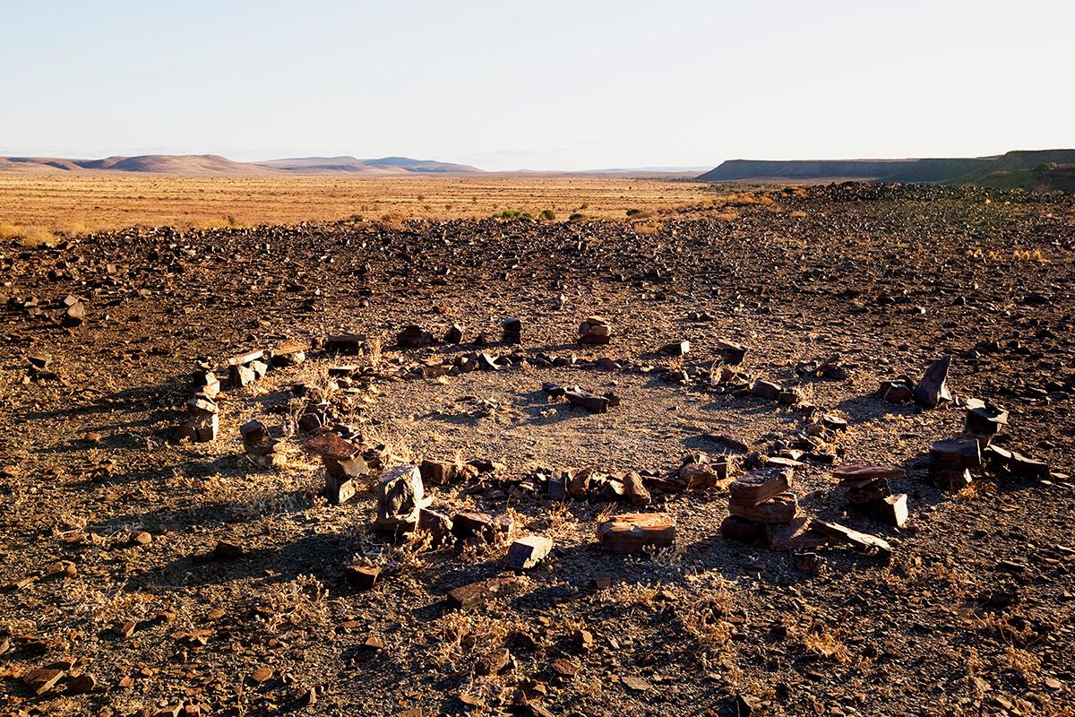 #164 Sacred Site,Namibie, 2008, 27°31'12″S 17°49'4″E