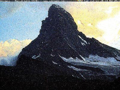 Matterhorn, Cervin, montagne, glaciers, glacier, jacques, Pugin, Zermatt,