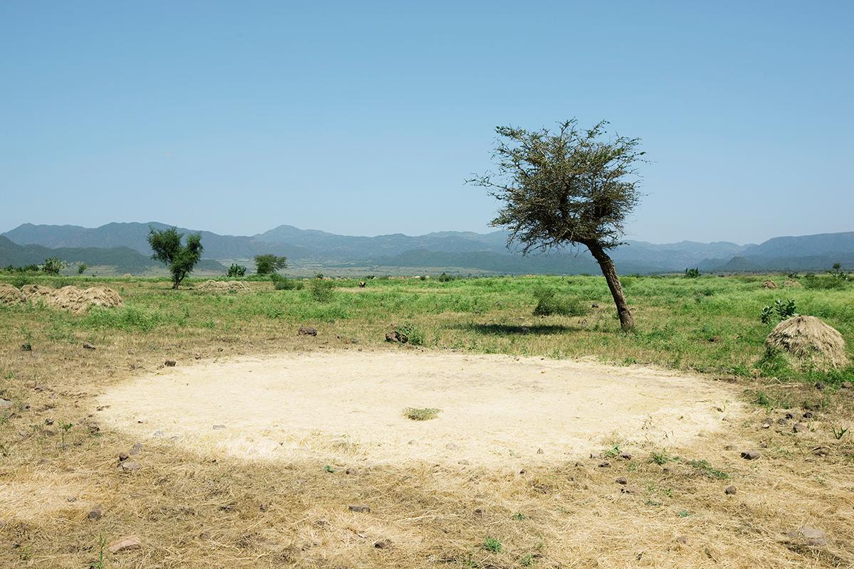 #202 Sacred Site,Ethiopie, 2008, 11°52'59″N 39°41'11″E
