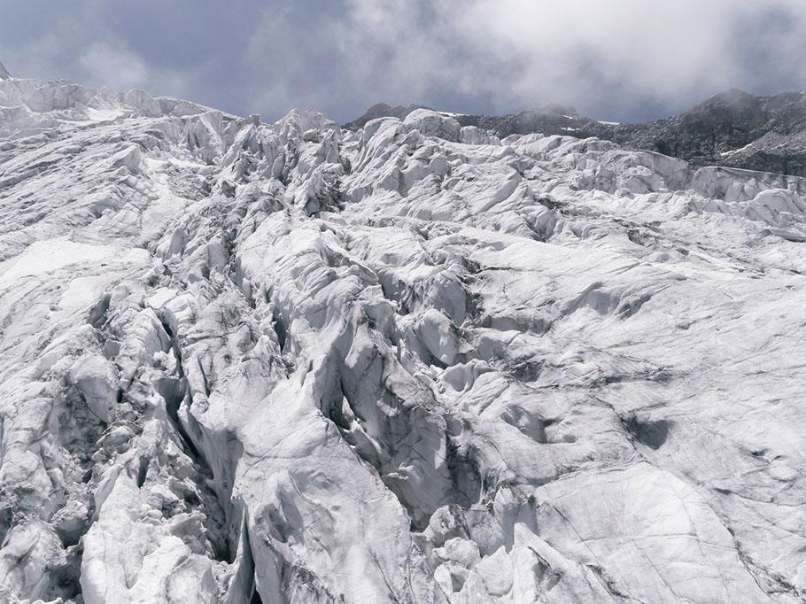 #268 Glaciers, Glacier des Follâts, 2017, 45°59'36″N 7°17'12″E