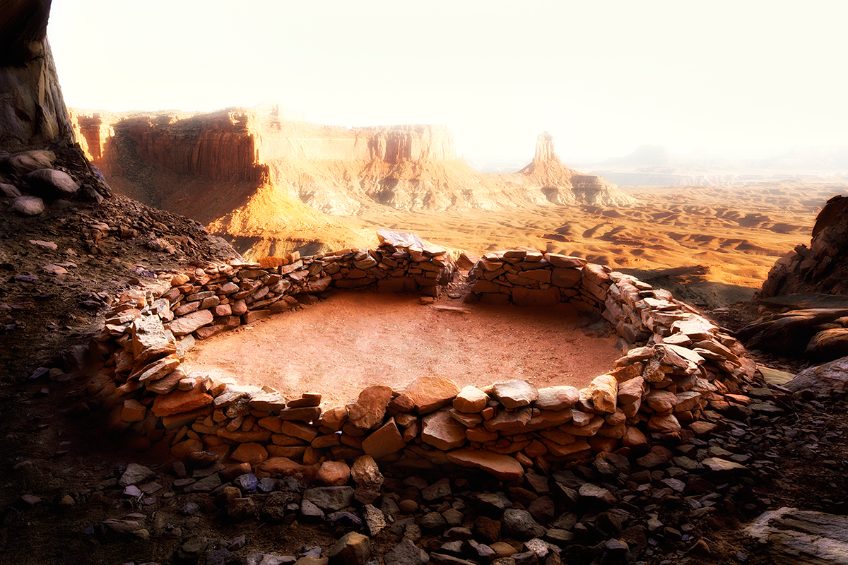#270 Sacred Site, USA, Canyon Land, 2009, 38°25'3″N 109°55'8 »W