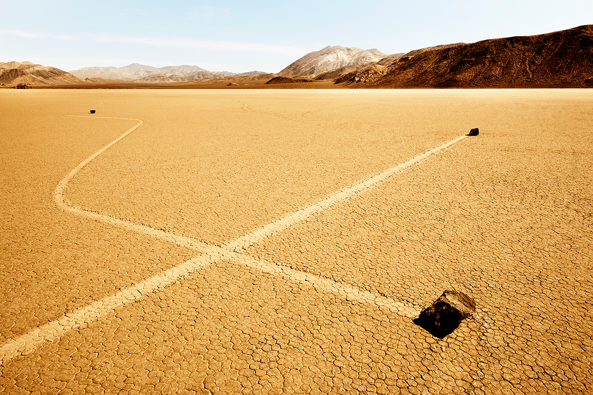 #277 Sacred Site, USA, Death Valley, Race Tracks, 2011, 36°41'42″N 117°33'54″W