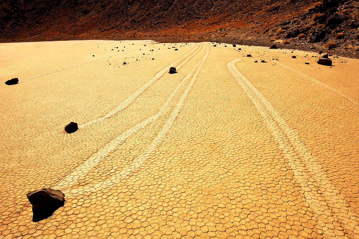 #281 Sacred Site, USA, Death Valley, Race Tracks, 2011, 36°41'42″N 117°33'54″W