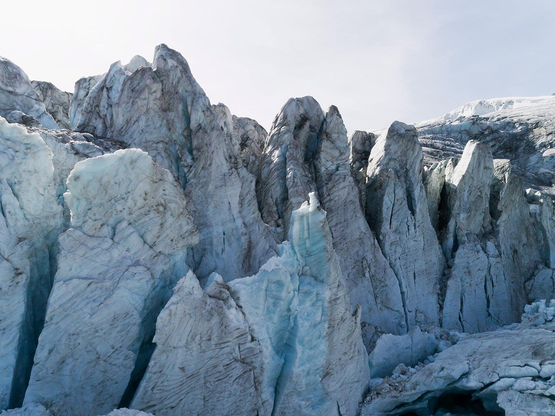 #288 Glaciers, Glacier de Moiry, 2017, 46°4'54″N 7°35'50″E