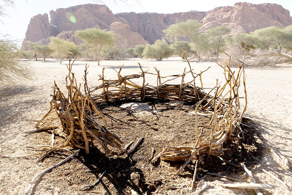 #289 Sacred Site,Tchad, 2013, 16°48'34″N 21°59'23″E