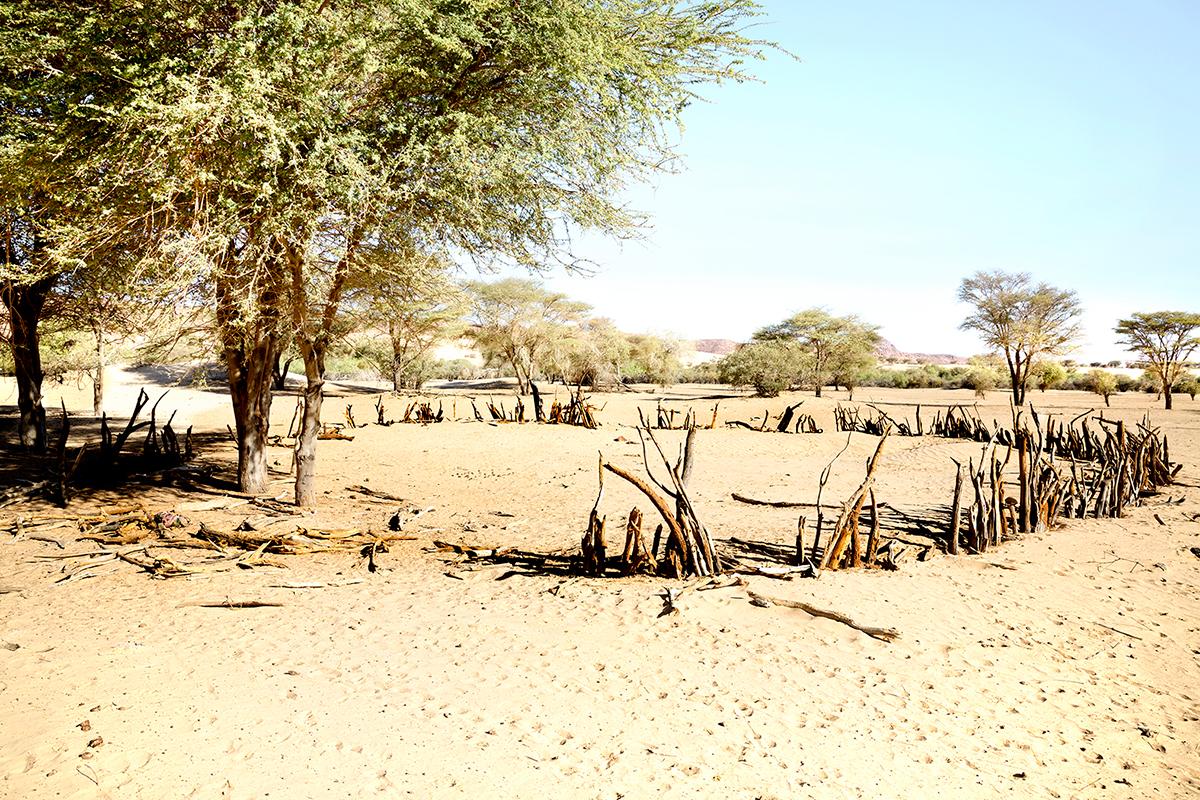 #291 Sacred Site,Tchad, 2013, 16°48'37″N 21°59'17″E