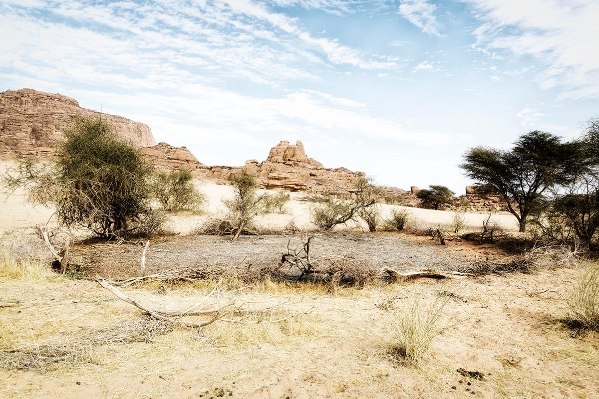 #293 Sacred Site,Tchad, 2013, 16°49'44″N 21°54'52″E