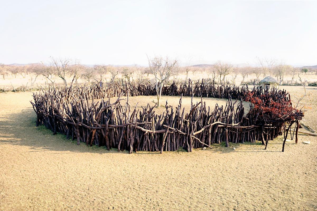 #306 Sacred Site,Namibie, Himbas, 2007, 17°36'41″S 13°20'1″E