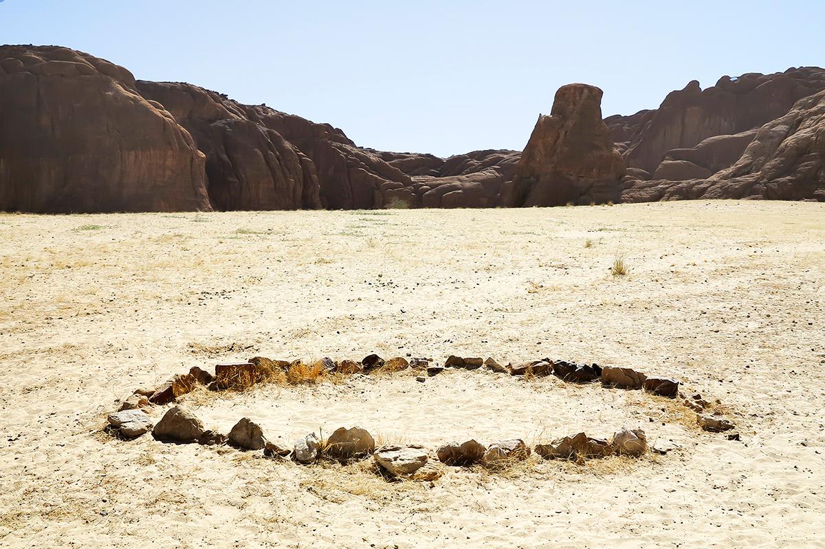 #305 Sacred Site,Tchad, 2013, 16°33'50″N 22°11'43″E