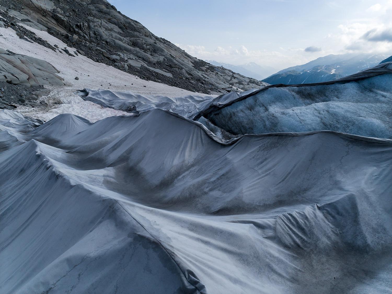 #368 Glaciers, Rhonegletscher, 2018, 46°34'52″N 8°23'17″E