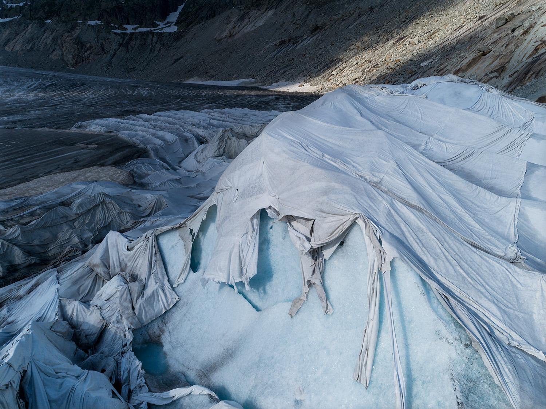 #370 Glaciers, Rhonegletscher, 2018, 46°34'49″N 8°23'13″E