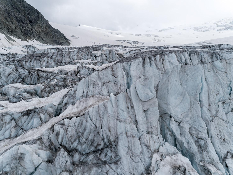 #371 Glaciers, Glacier de Moiry, 2018, 46°4'58″N 7°35'54″E