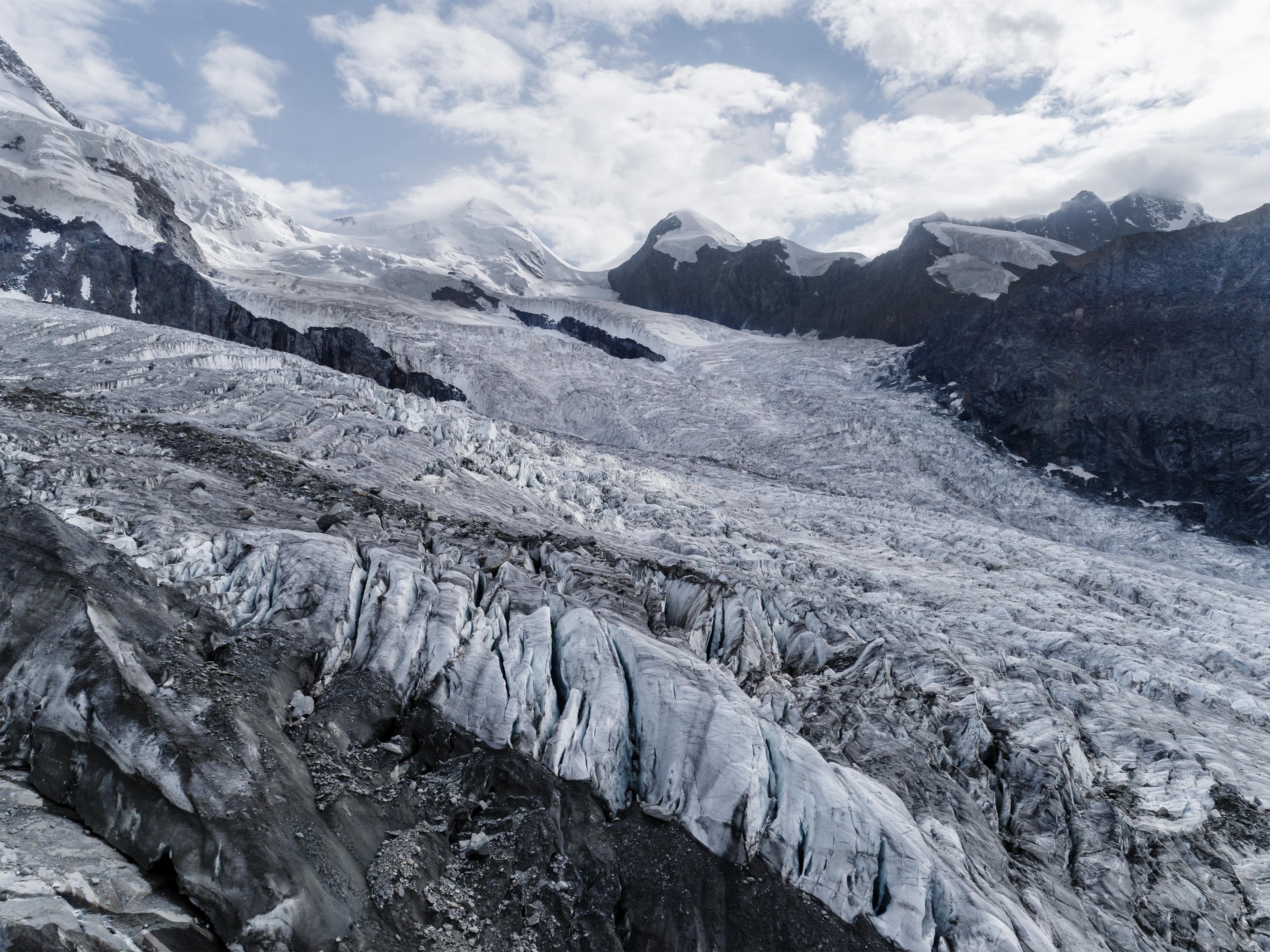 #379 Glaciers,Grenzgletscher, 2018, 45°57'14.009″N 7°48'46.799″E