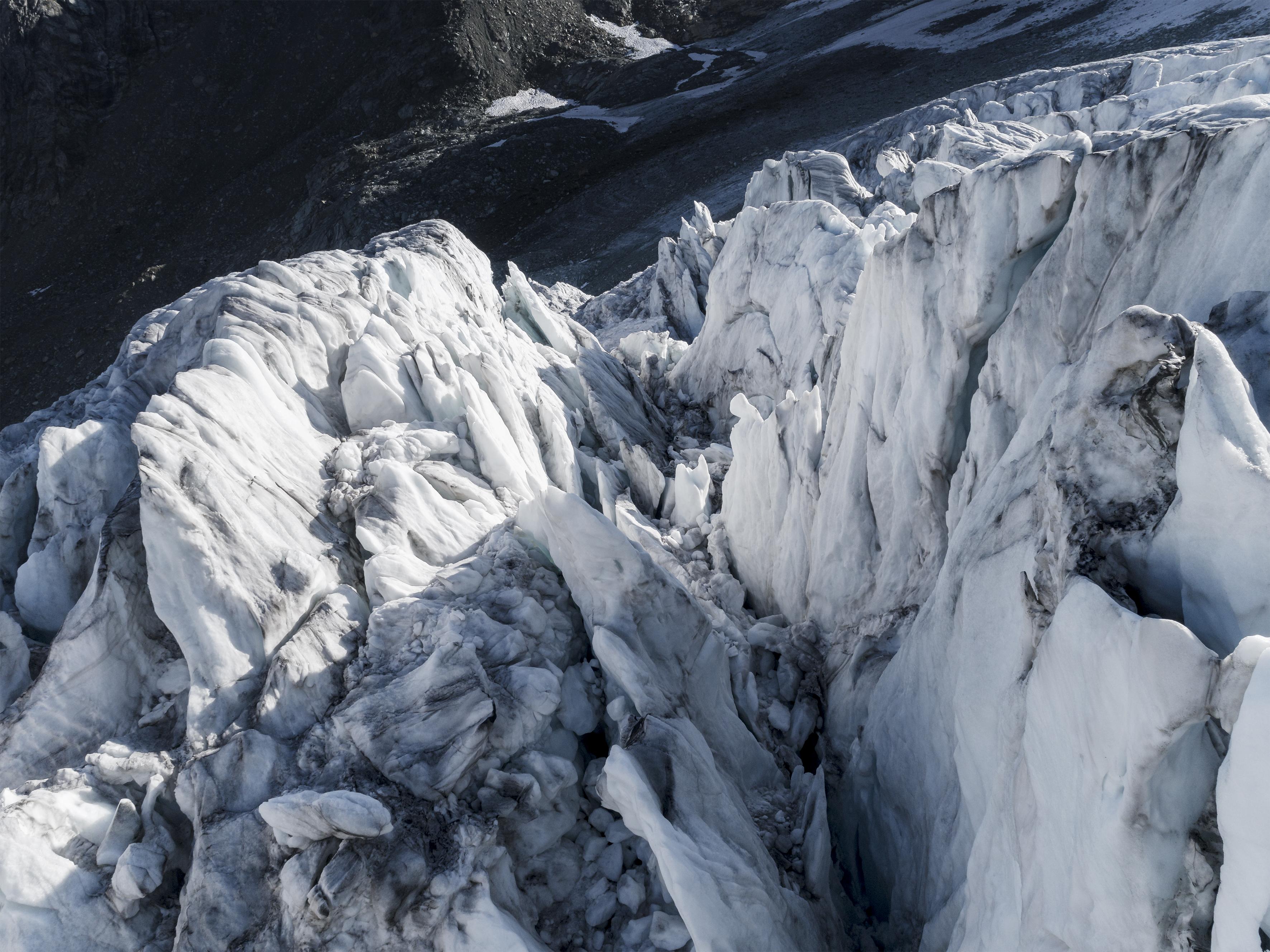 #384 Glaciers,Glacier de Moiry, 2018, 46°4'56.399″N 7°35'55.937″E