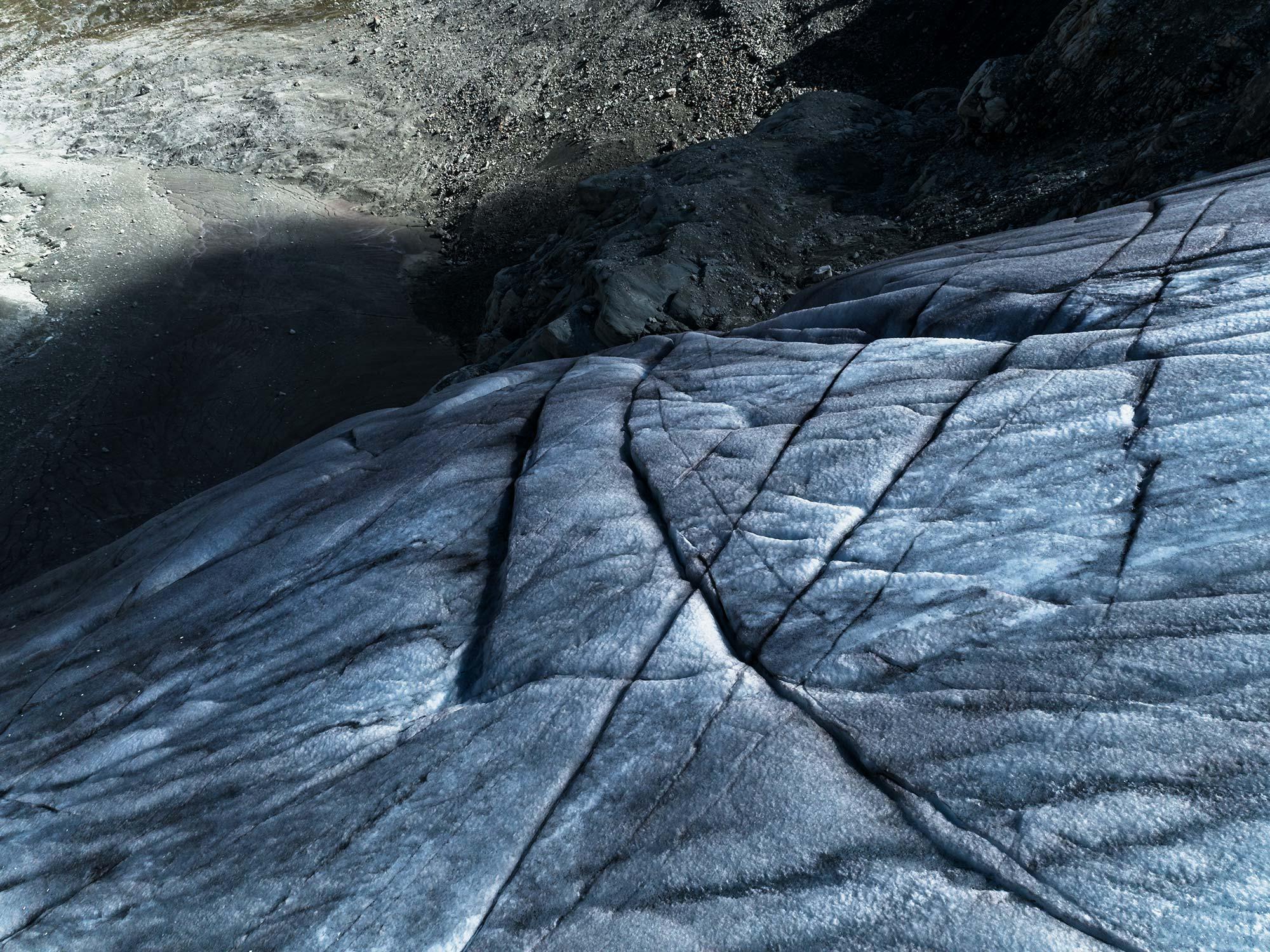 #395 Glaciers,Glacier de Moiry, 2018, 46°5'28.602″ N 7°35'16.793″ E