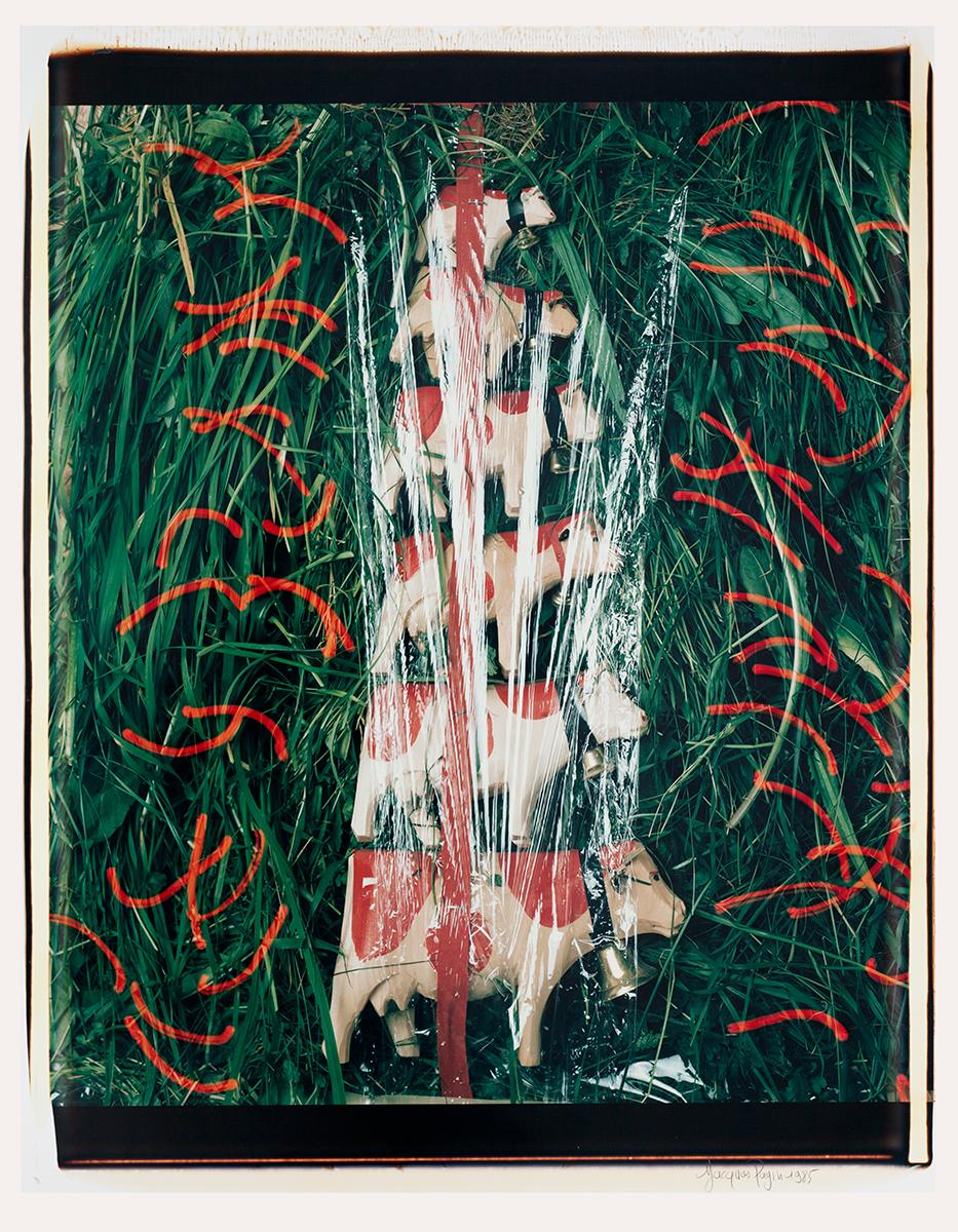# 09 Les polaroid 60 x 50 cm, 1985