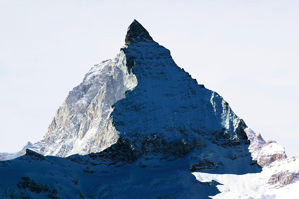 # 09 La montagne s'ombre,Matterhorn - Cervin, 2005  # 09 La montagne s'ombre,Matterhorn – Cervin, 2005