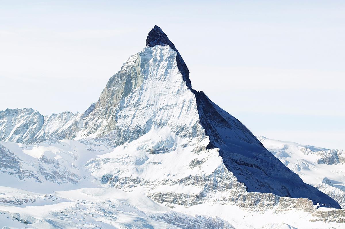 # 12 La montagne s'ombre,Matterhorn - Cervin, 2005  # 12 La montagne s'ombre,Matterhorn – Cervin, 2005