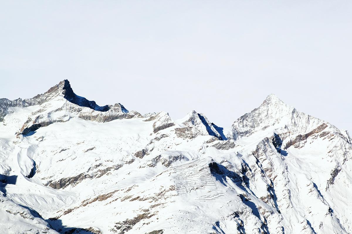 # 15 La montagne s'ombre,Zinalrothorn, Schalihorn, Weisshorn, 2005