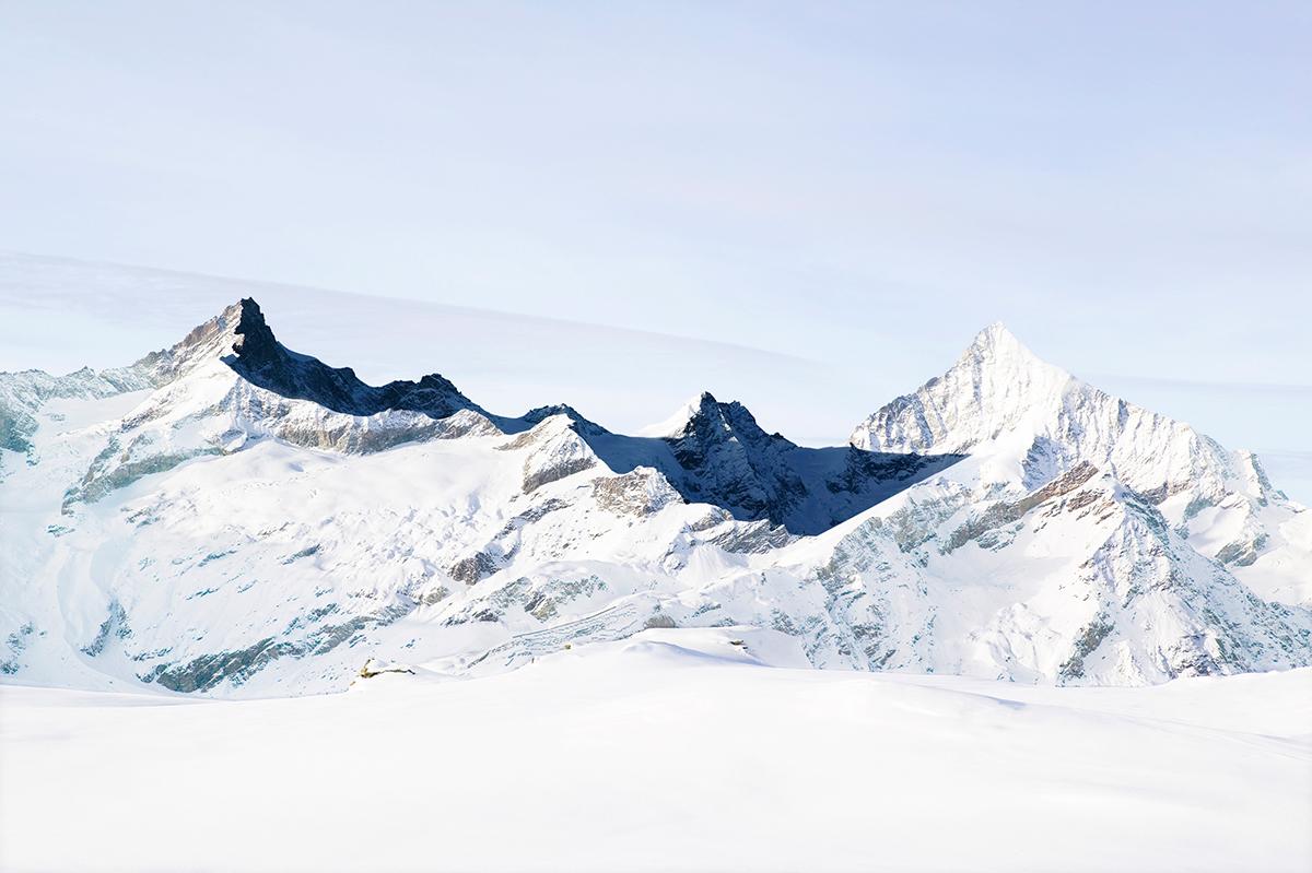 # 16 La montagne s'ombre,Zinalrothorn, Schalihorn, Weisshorn, 2005