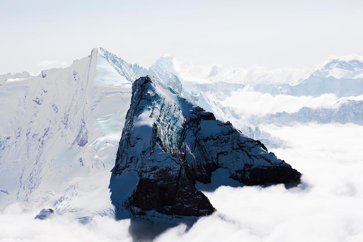 # 41 La montagne s'ombre,Alpes Bernoises, Berner Alpen, Switzerland, 2007
