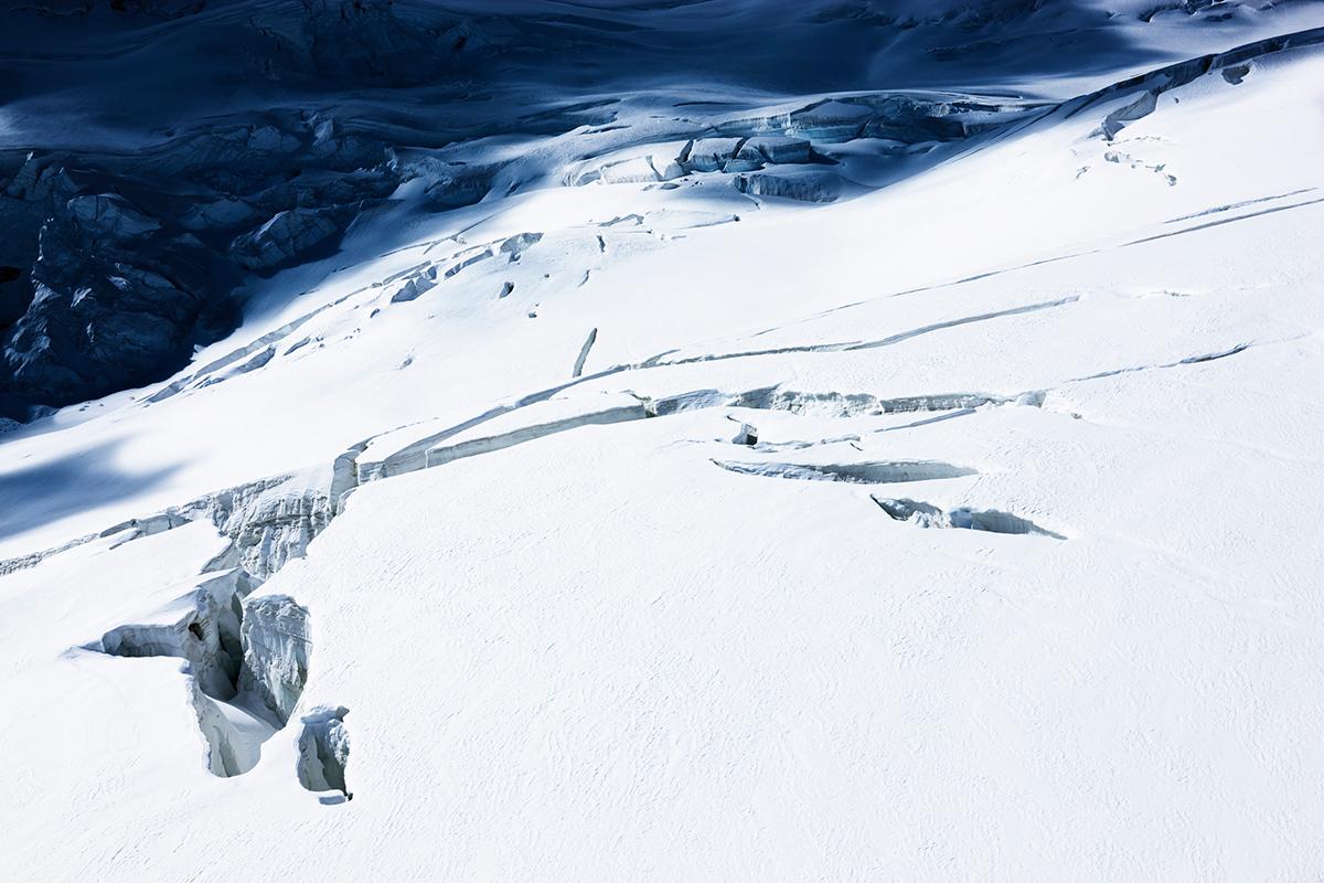 # 45 La montagne s'ombre,vers le Glacier d'Aletsch, Near Aletsch Glacier Switzerland, 2008