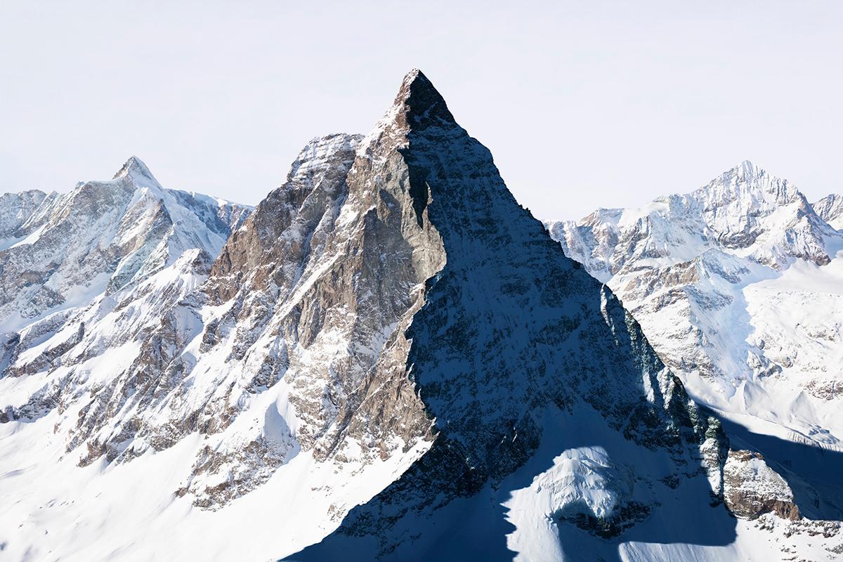 # 54 La montagne s'ombre,Matterhorn – Cervin, 2009