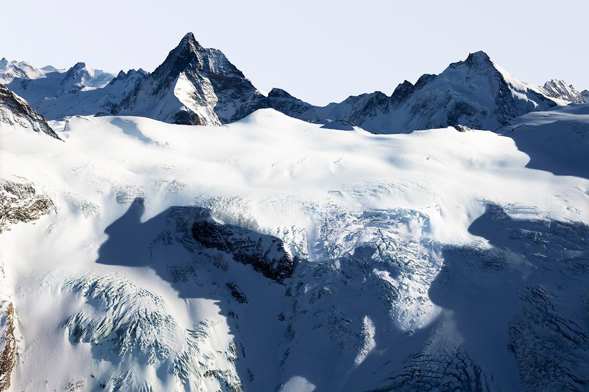 # 55 La montagne s'ombre,Matterhorn – Cervin, Dent D'Erens, 2009