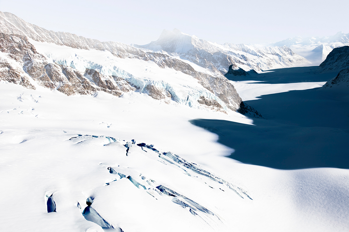 # 59 La montagne s'ombre,Aletsch Glacier,Switzerland 2010