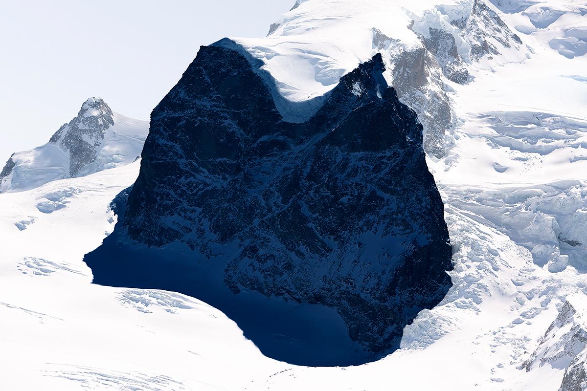 # 64 La montagne s'ombre,Mont Rose, 2013